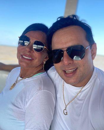 Os pombinhos escolheram Belém, no Pará, para eternizar o relacionamento. O saxofonista é natural da cidade e a cantora abraçou a cultura e gastronomia da região, que estarão presentes na cerimônia – Foto: Reprodução/Instagram