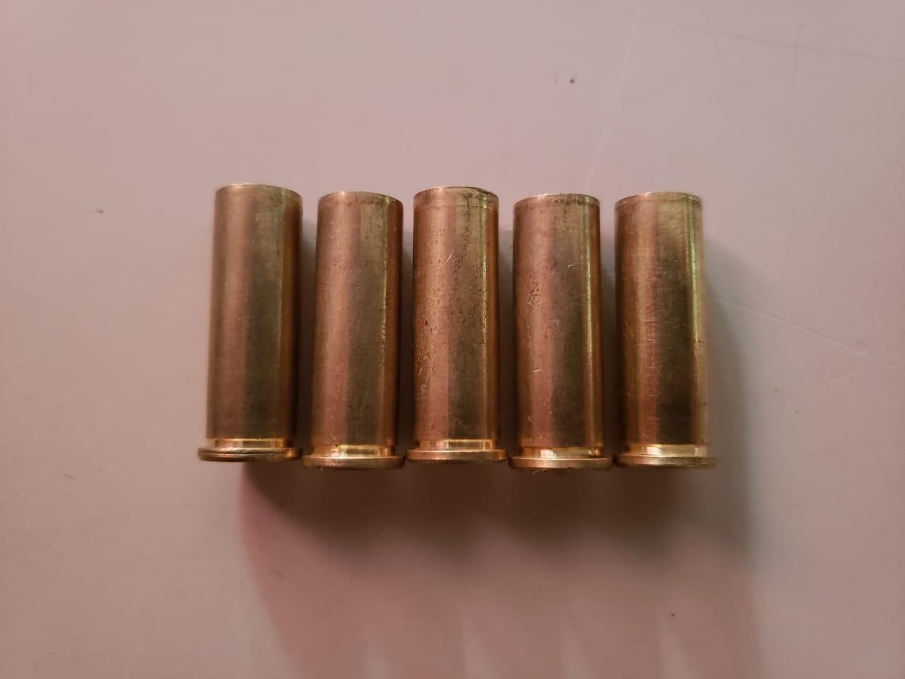Cinco projéteis foram disparados em frente a residências no Bairro Eldorado - PM/ND