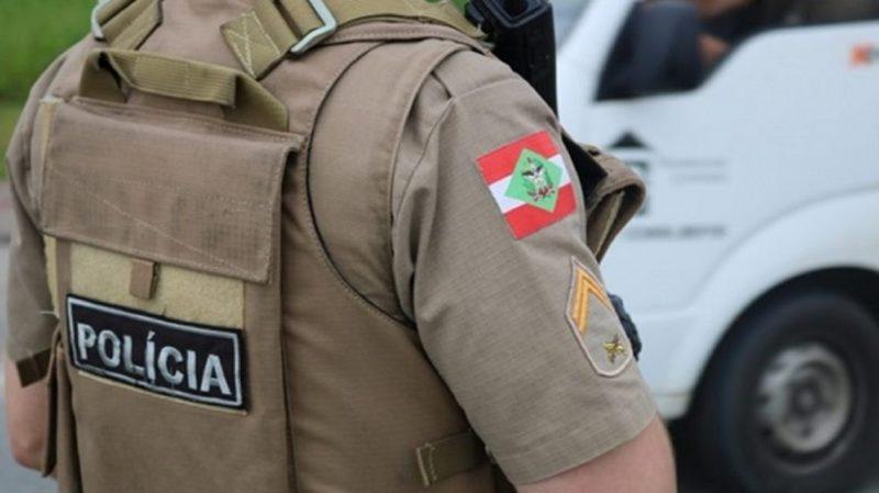 O que motivou o golpe de faca não foi informado pela polícia – Foto: Polícia Militar SC