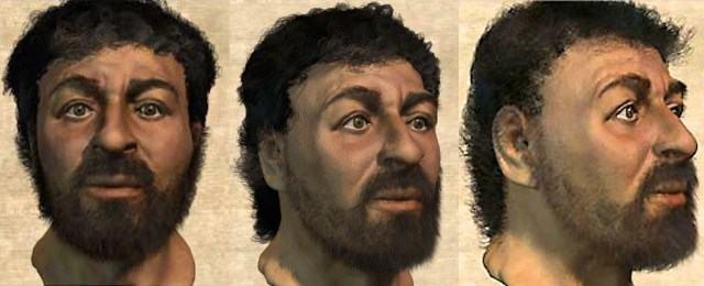 Naquele ano um computador recriou Jesus Cristo. Até então, a imagem tradicional era um homem de cabelos longos e olhos azuis. A nova imagem tratava de um homem com cabelos escuros, quase negro e olhos castanhos. Desenvolvida por cientistas para um documentário sobre a vida de Jesus, a imagem chocou muitas pessoas – Foto: Divulgação/ND