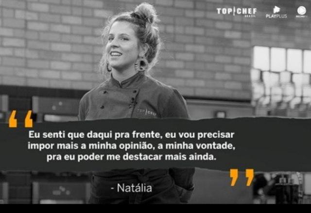 Parece que a ficha da Natália caiu sobre estar em uma disputa que vale R$ 300 mil – Foto: Reprodução/Instagram