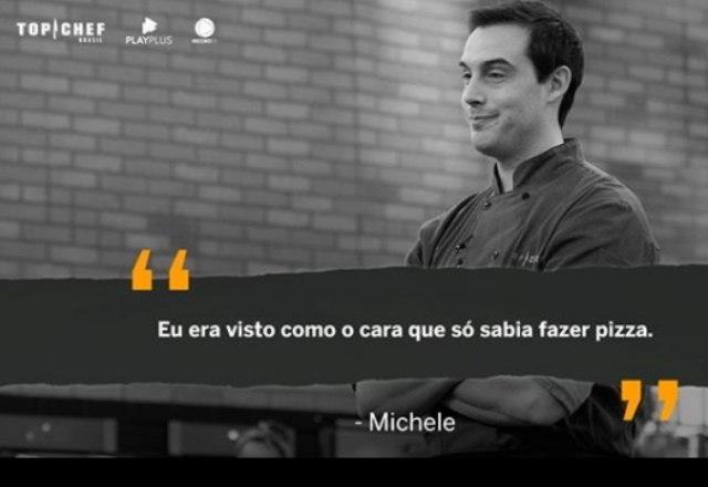 Michele também aproveitou um dos episódios para fazer um desabafo sobre a carreira de chef – Foto: Reprodução/Instagram