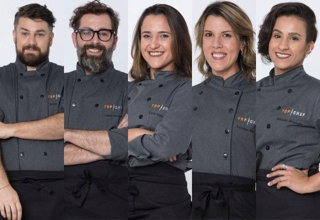 A segunda temporada de Top Chef Brasil já está na reta final! Você sabe quem são os participantes que se destacaram e ainda estão na briga por R$ 300 mil? Confira a retrospectiva! – Foto: Divulgação/Record TV