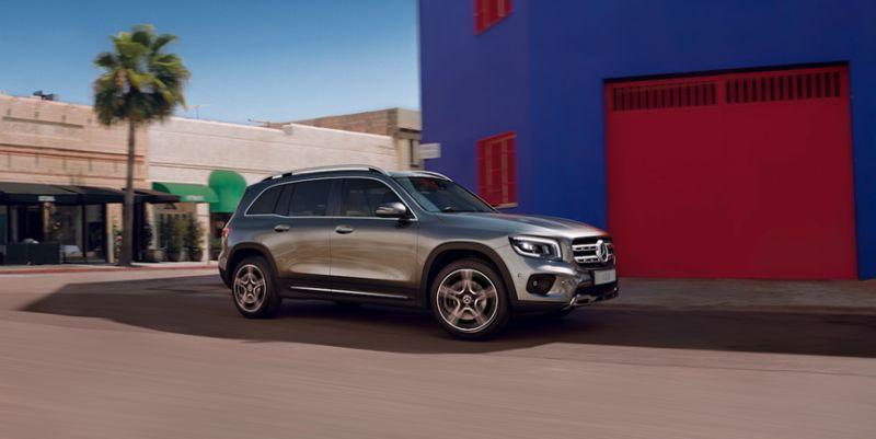 Mercedes-Benz inicia pré-venda do GLB no Brasil - Divulgação/ Mercedes-Benz
