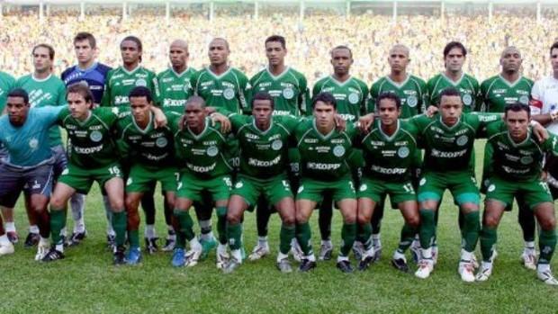 2007 (Chapecoense): A Chapecoense conquistou o estadual de 2007 após empatar por 2 a 2 com o Criciúma. Na ida o Verdão venceu por 1 a 0 – Foto: Reprodução/Chapecoense