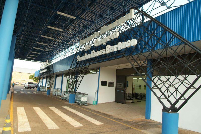 Prefeitura de Chapecó promoveu no início deste ano a licitação para a concessão do Aeroporto – Foto: Divulgação/ND