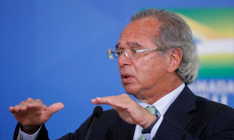 Paulo Guedes sobre auxílio emergencial