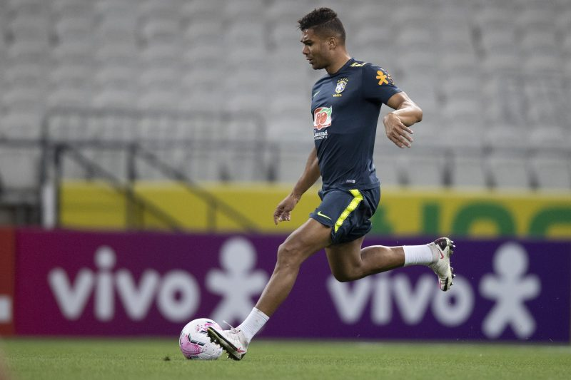 Casemiro será o capitão da Seleção Brasileira contra a Bolívia – Foto: Lucas Figueiredo/CBF/ND