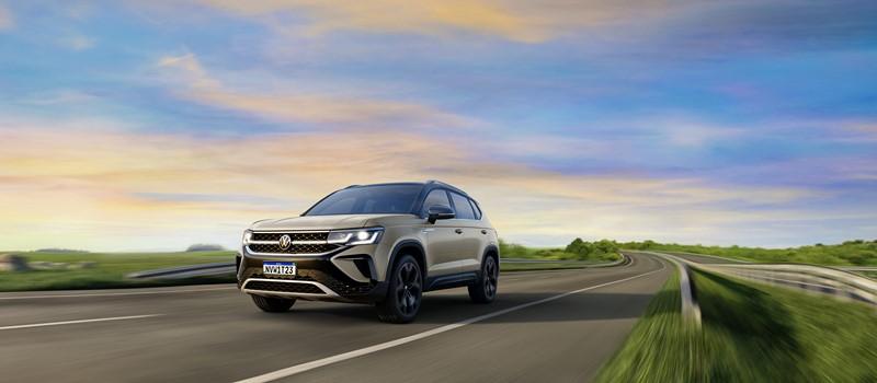 VW Taos tem LED na grade, porte de Compass e chega em 2021 - Divulgação/VW - Divulgação/VW/Garagem 360/ND