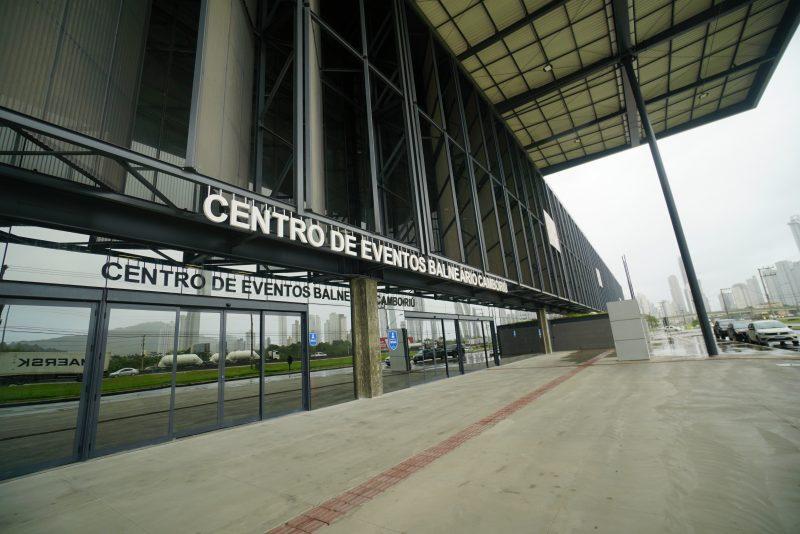 Concessão da gestão do Centro de Eventos de Balneário Camboriú pode voltar à estaca zero – Foto: Peterson Paul/Secom SC