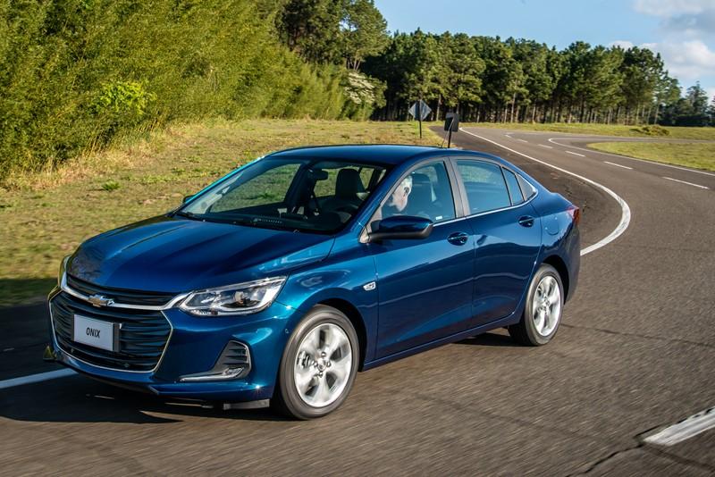 6- Chevrolet Onix Plus: 7.093 unidades - Foto: Divulgação/Chevrolet/Garagem 360/ND
