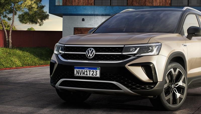 Volkswagen revela o Taos, seu novo SUV médio para o Brasil e América Latina - Foto: Divulgação/VW/Garagem 360/ND