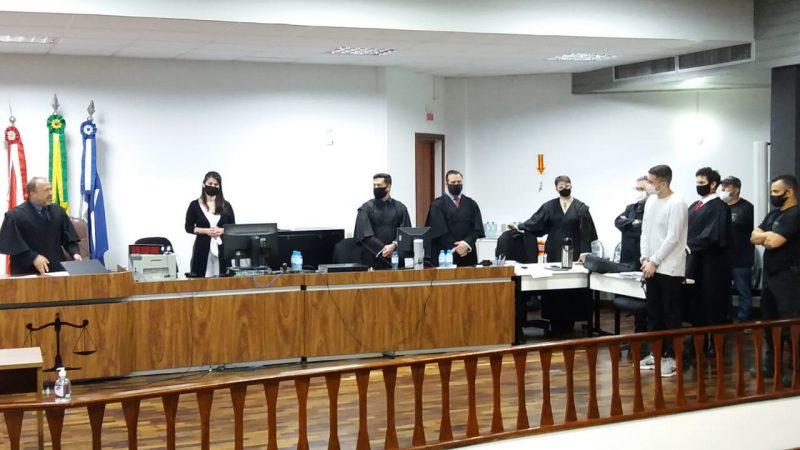 Leonardo Natan Chaves Martins, do caso Gabriella Custódio, foi julgado em outubro – Foto: Comarca de Joinville/Divulgação