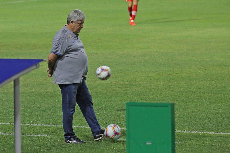 Geninho, entregou o cargo na mão da diretoria. Foto: Itawi Albuquerque/AGIF – Agência de Fotografia/Estadão Conteúdo