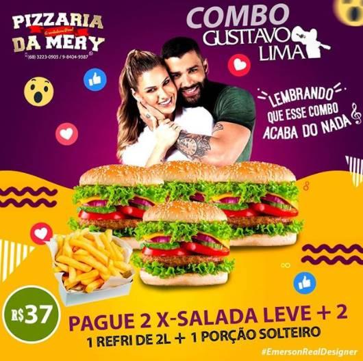 Restaurantes fazem promoção baseada na separação de Gusttavo Lima e Andresa Suita – Foto: Reprodução/ND