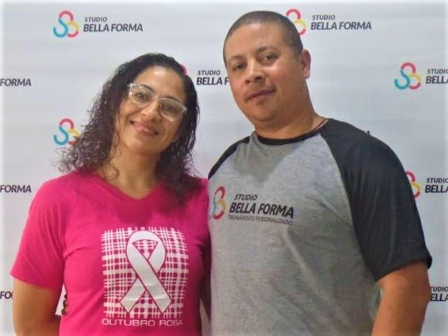 Murilo Silva e a mulher e sócia, Débora C. Braz – Foto: Divulgação