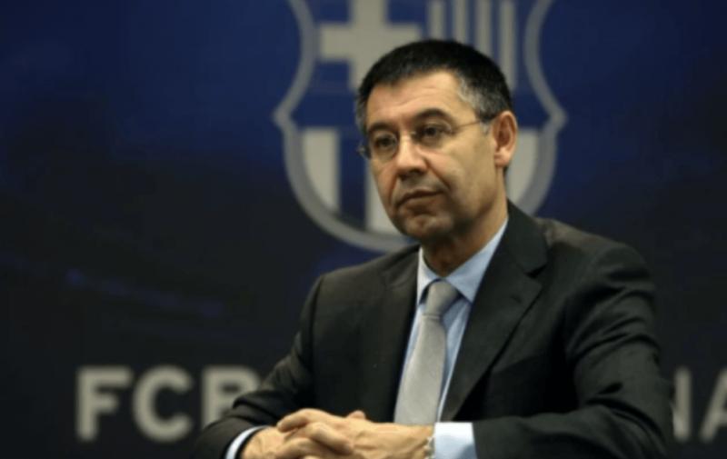 Renúncia de Josep Maria Bartomeu havia sido o ápice da crise no Barcelona. No entanto, agora com a prisão… – Foto: Divulgação / Barcelona
