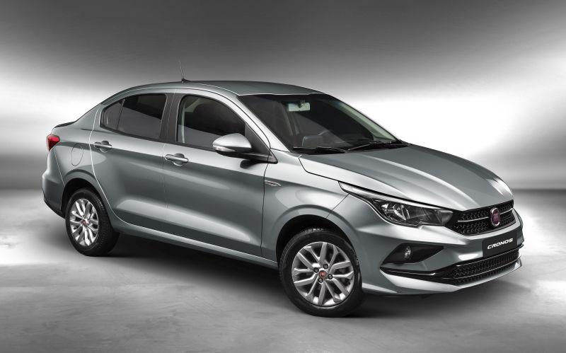 Promoção da Fiat oferece Cronos Drive 1.3 por R$ 58.590 - Divulgação/FCA