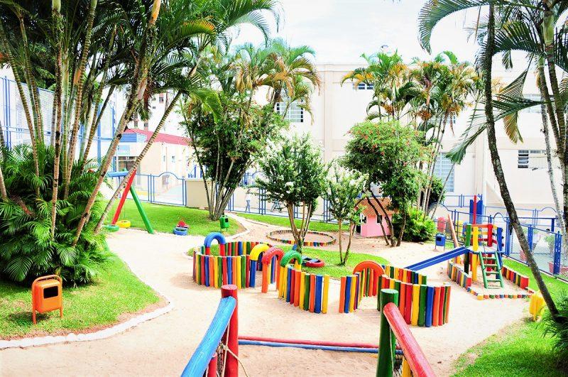 Estrutura externa preparada para turno integral do Ensino Infantil – Foto: Acervo/Colégio Catarinense