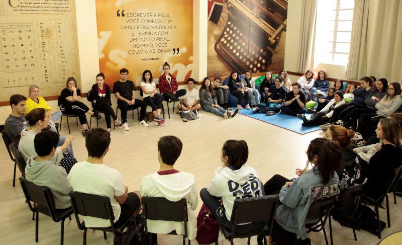 Laboratório de escrita prepara alunos para provas e criação de texto – Foto: Acervo Colégio Catarinense