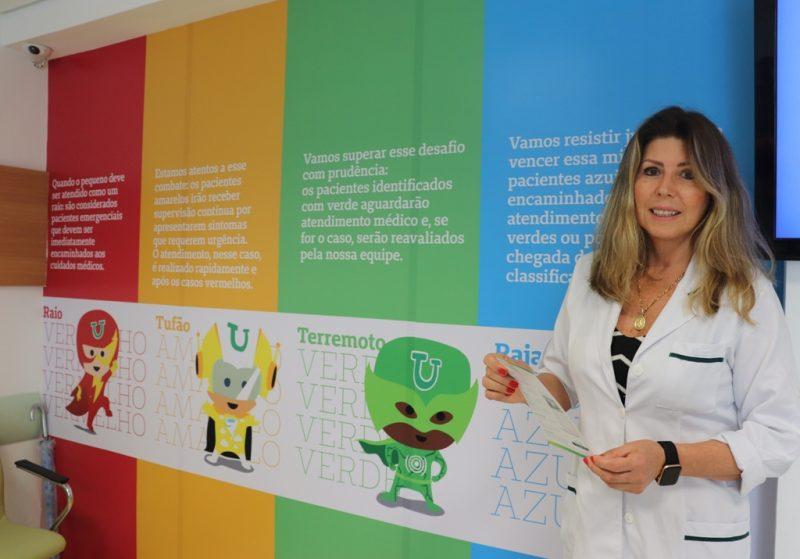"""<span style=""""font-weight: 400;"""">Médica pediatra e responsável técnica da Unidade Infantil, Anamar Lúcia Brancher. </span>&#8211; Foto: Divulgação"""