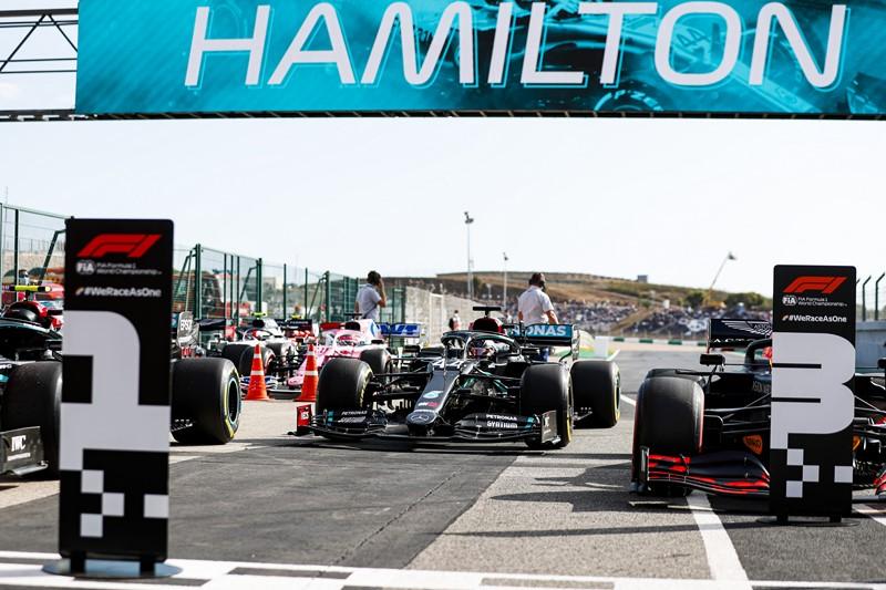 Hamilton quebra recorde e se torna o maior vencedor de corridas da história da F1 - Foto: Divulgação/Mercedes-AMG F1/Garagem 360/ND