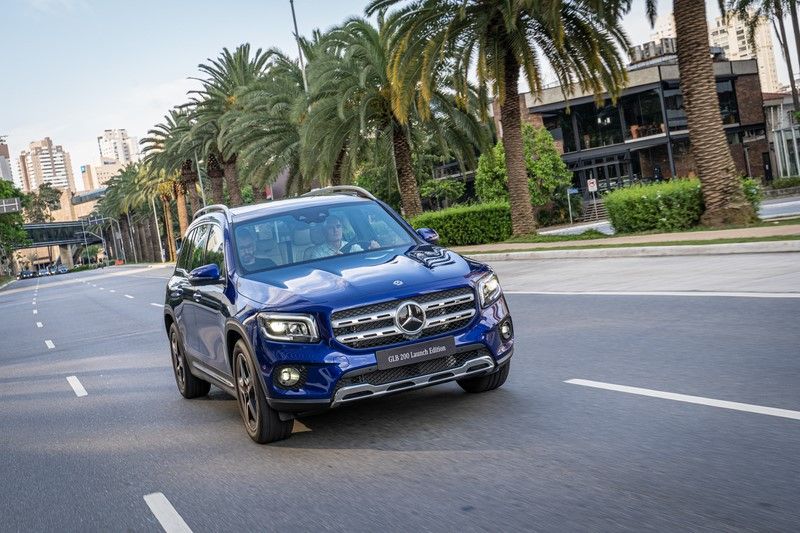 Mercedes-Benz apresenta nova geração do GLB no Brasil - Foto: Divulgação/Daimler/Garagem 360/ND