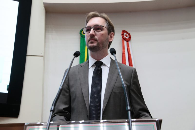 Marcos Probst, advogado de defesa do Governador Moisés – Foto: Solon Soares/Agência AL
