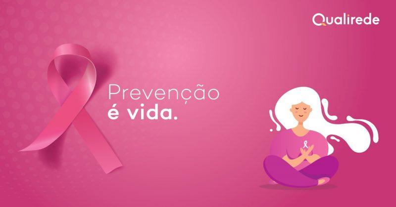 Campanha Outubro Rosa da Qualirede alerta para importância de diagnóstico precoce – Foto: Divulgação