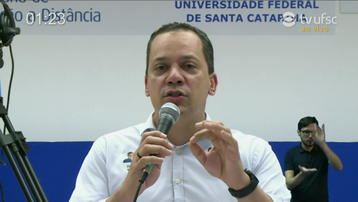 Ricardo Vieira (Solidariedade) falou que, se eleito,