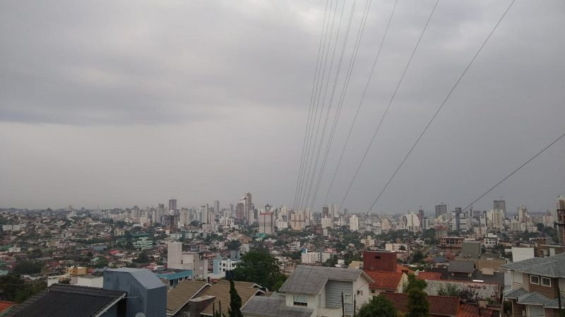 Tempo segue instável até a próxima sexta-feira (11) em Chapecó e região – Foto: Carolina Debiasi/ND