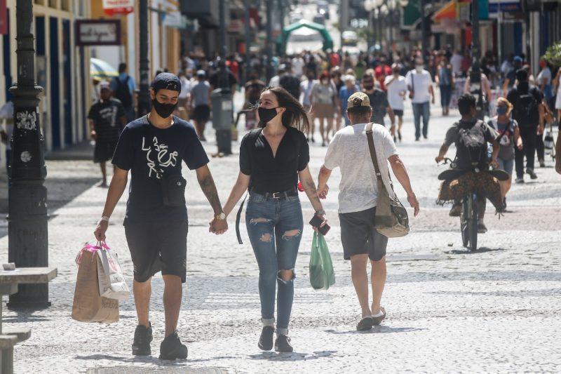 Isolamento social foi de 44% durante o feriado, sendo SC o 20º Estado no ranking do quesito – Foto: Anderson Coelho/ND