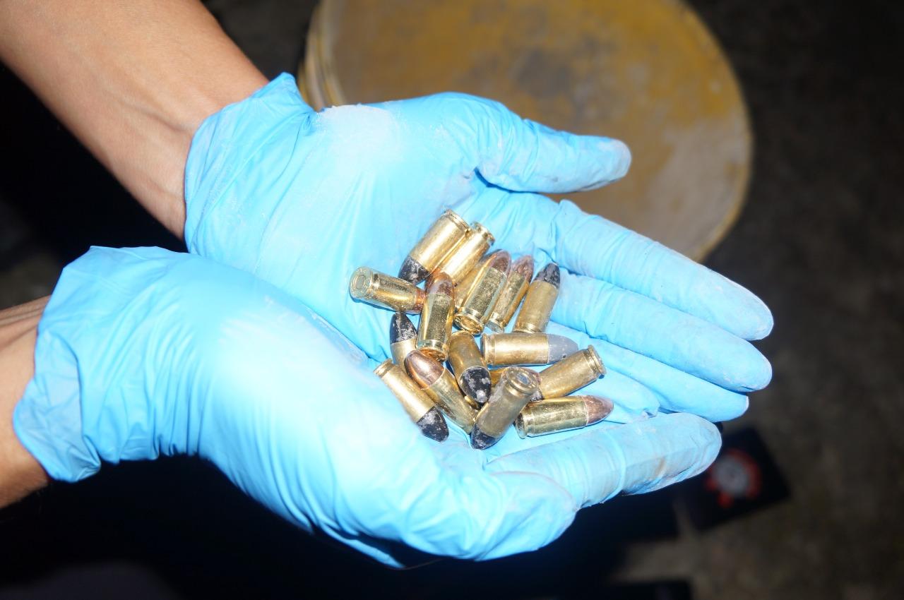 Assim como 17 munições - Divulgação/PMSC/ND