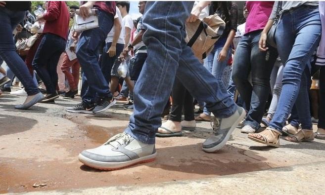 Caminhar foi a modalidade que se tornou mais popular durante a pandemia da Covid-19 – Foto: Valter Campanato/Agência Brasil/ND