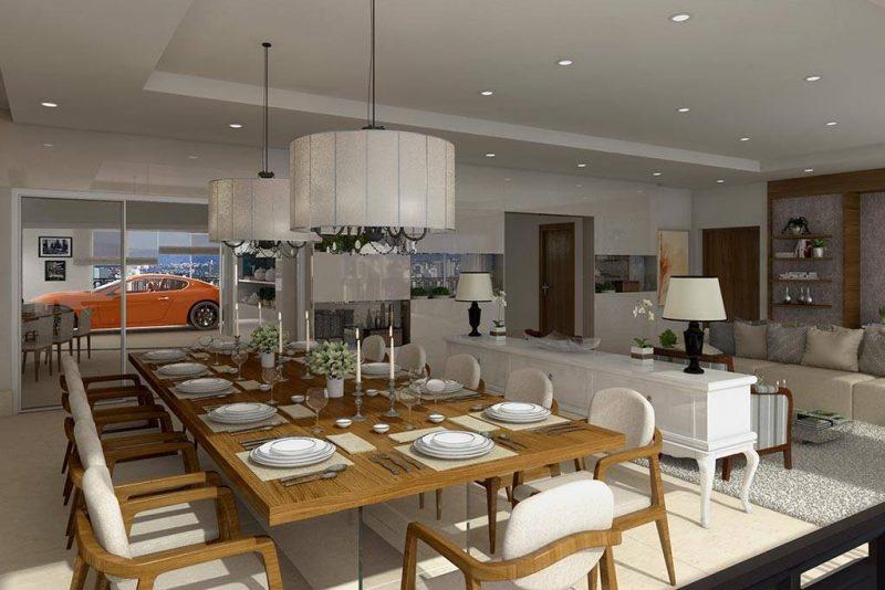 Novo lar de Gusttavo Lima tem 404 m² e elevador para carro – Foto: Reprodução