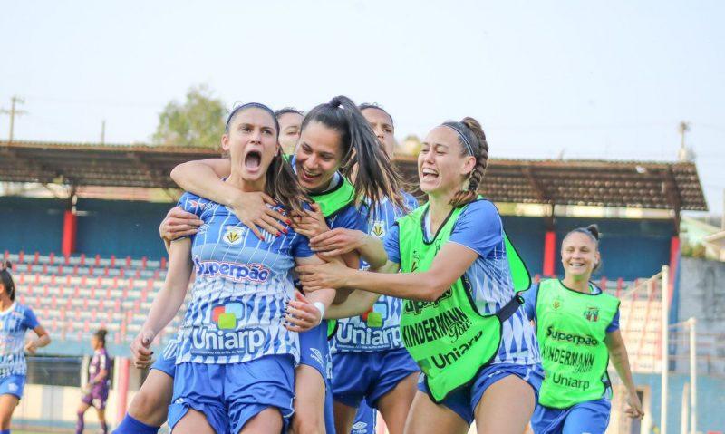 Avaí/Kindermann se torna potência no futebol feminino brasileiro – Foto: Andrielli Zambonin/Avaí/Kindermann/ND