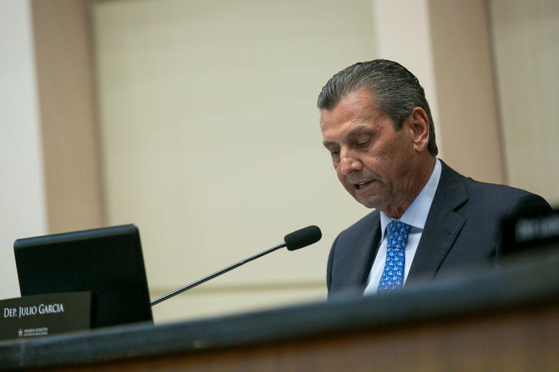 Presidente Julio Garcia – Foto: Rodolfo Espínola / Agência AL/ND