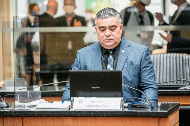 Deputado Sargento Lima (PSL) convocado na CPI da Covid. – Foto: Divulgação/Agência Alesc/ND