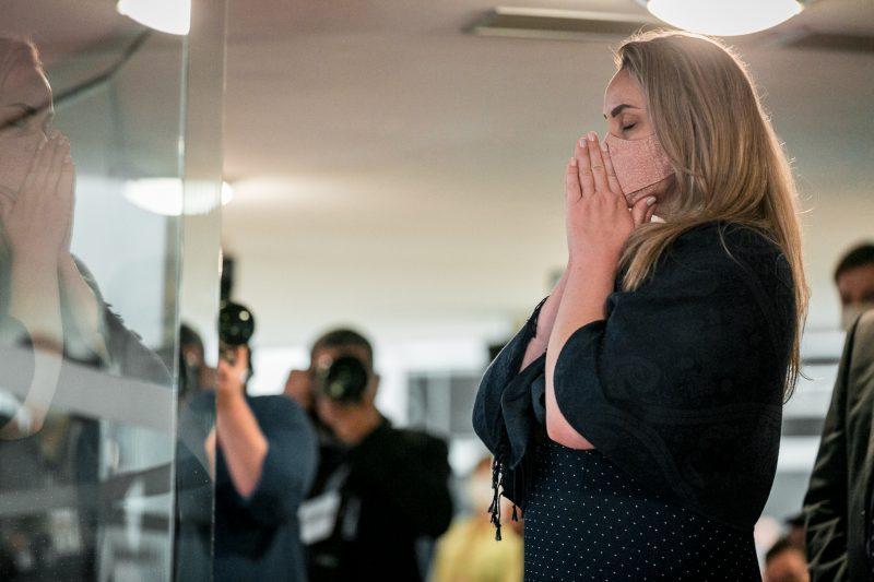 Com o resultado da sessão, Daniela Reinehr assumirá como governadora interina na terça-feira (27) – Foto: Bruno Collaço/Agência AL