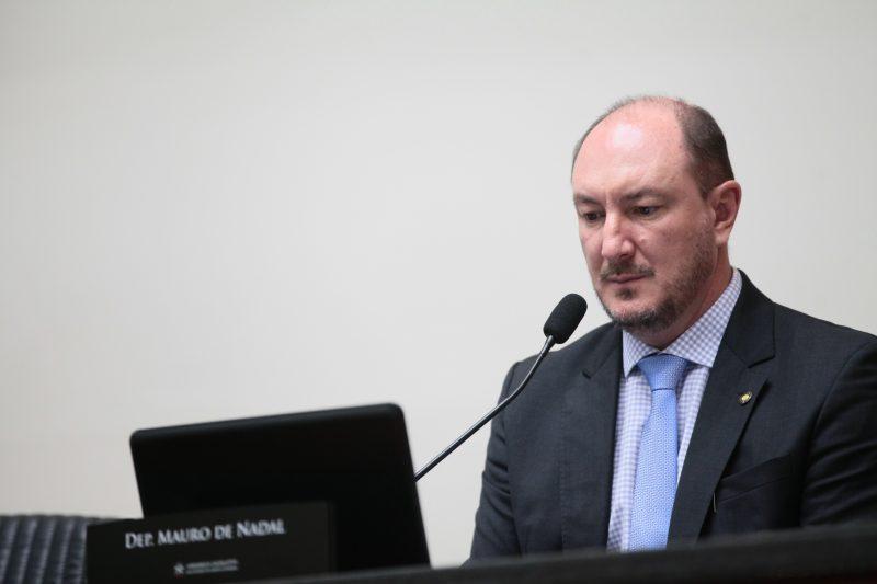 Deputado Mauro de Nadal será o novo presidente da Alesc – Foto: Solon Soares/Agência AL/Divulgação/ND
