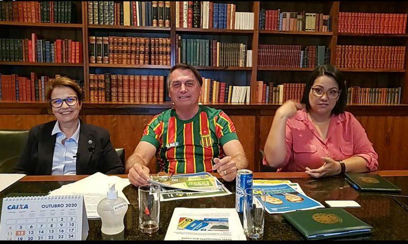 Live semanal do Presidente Jair Bolsonaro, 29/10/2020 – Foto: Jair Bolsonaro/Facebook/ND