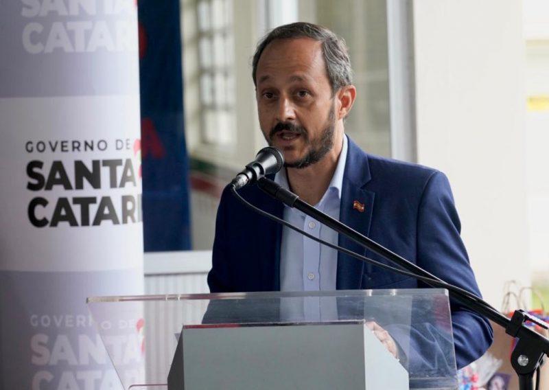 Leandro Mané Ferrari deixou a presidência da Santur- Foto: Divulgação/ND