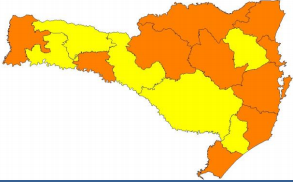 Mapa de risco de acordo com o item monitoramento – Foto: Divulgação