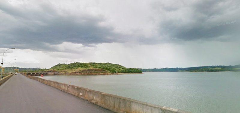 Ex-companheiro da vítima confessou ter jogado corpo da jovem na ponte sobre o Rio Uruguai – Foto: Google Street View/Reprodução/ND