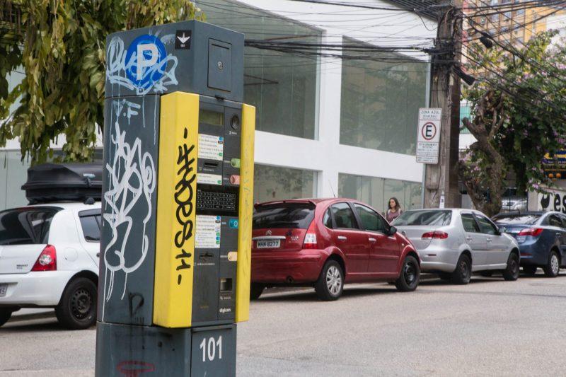 Contrato da Zona Azul foi suspenso pela Prefeitura de Florianópolis em 2019 – Foto: Flavio Tin/ND