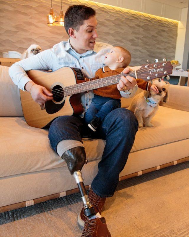 Jakson Follmann teve um filho e se dedica à música – Foto: Reprodução/Instagram