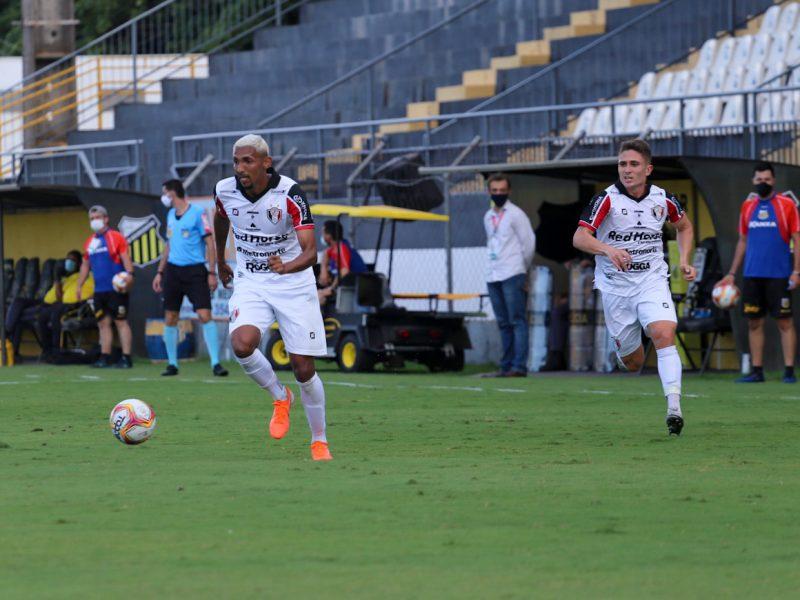 JEC não conseguiu marcar e viu os adversários diretos conquistando a vaga na próxima fase – Foto: Vitor Forcellini/JEC