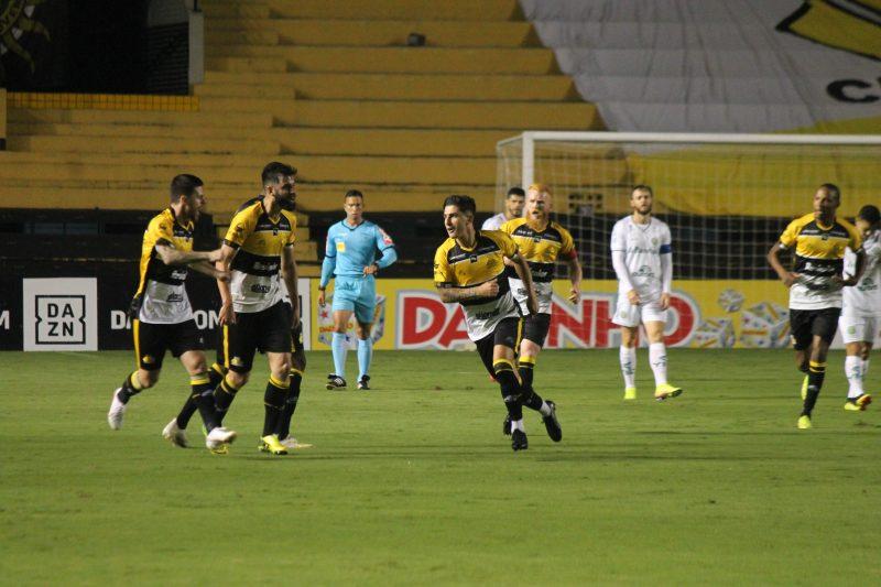 Tigre abriu larga vantagem na última rodada e acabou cedendo o empate – Foto: Celso da Luz/Criciúma E.C