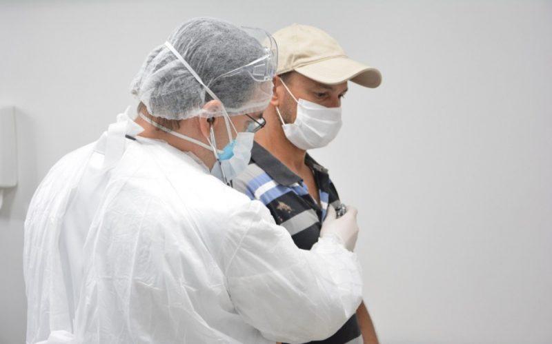 Alta nos casos de coronavírus faz Blumenau contratar novos médicos – Foto: Marcelo Martins