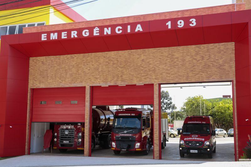Nova sede dos bombeiros de Chapecó – Foto: Reprodução/ND